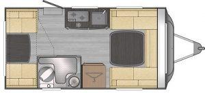 FreeCross Caravans FreeCross 370DD Layout 1