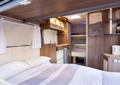 FreeCross Caravans FreeCross 370DD Luxor Front Bed