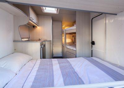 FreeCross Caravans 330DL Premium Interior Sleeping 1